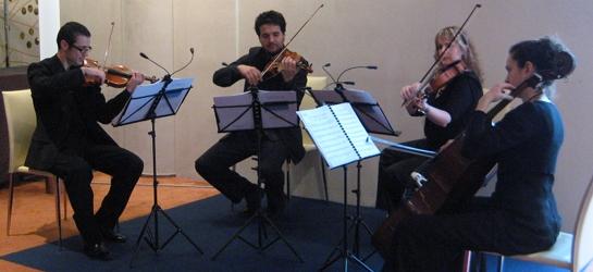 Marmúsica, Cuarteto de cuerda